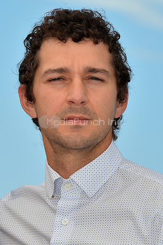 Shia Labeouf at the Photocall &acute;American Honey` - 69th Cannes Film Festival on May 15, 2016 in Cannes, France.<br /> CAP/LAF<br /> &copy;Lafitte/Capital Pictures /MediaPunch ***NORTH AND SOUTH AMERICA ONLY***