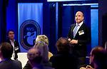 UTRECHT -  Sander Allegro, , A tribe called Golf, de kracht van de connectie. Nationaal Golf Congres van de NVG 2014 , Nederlandse Vereniging Golfbranche. COPYRIGHT KOEN SUYK