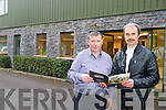 Cormac Leen and Brendan O'Mahony of  Leane's Kitchens & Bedrooms. Tralee Road, Killarney