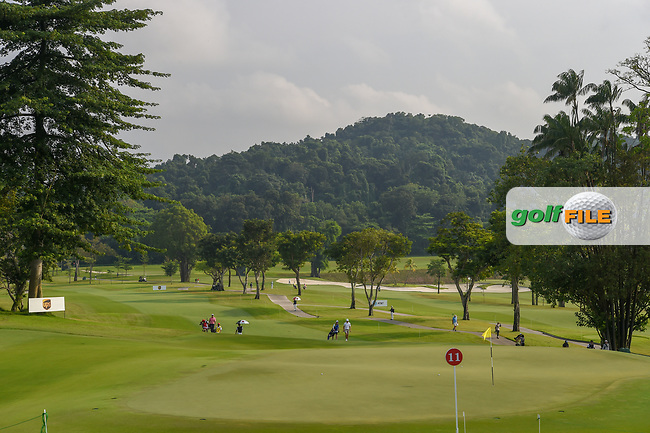 A wide view of 11 during Rd 2 of the Asia-Pacific Amateur Championship, Sentosa Golf Club, Singapore. 10/5/2018.<br /> Picture: Golffile | Ken Murray<br /> <br /> <br /> All photo usage must carry mandatory copyright credit (© Golffile | Ken Murray)