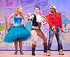 Mother Goose <br /> at the Hackney Empire, London, Great Britain <br /> press photocall<br /> 20th November 2014 <br /> <br /> <br /> <br /> Abigail Rosser as Princess Jill <br /> <br /> Matt Dempsey as Prince Jack <br /> <br /> <br /> Kat B as Billy Goose <br /> <br /> <br /> <br /> <br /> <br /> Photograph by Elliott Franks <br /> Image licensed to Elliott Franks Photography Services