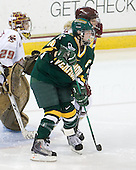 Corinne Boyles (BC - 29), Brittany Nelson (Vermont - 16), Shannon Webster (BC - 12) - The University of Vermont Catamounts defeated the Boston College Eagles 5-1 on Saturday, November 7, 2009, at Conte Forum in Chestnut Hill, Massachusetts.