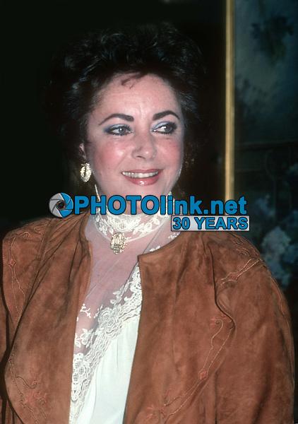 Elizabeth Taylor 1983<br /> Photo By John Barrett/PHOTOlink.