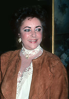 Elizabeth Taylor 1983<br /> Photo By John Barrett/PHOTOlink.