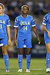 06 September 2013: UCLA's Taylor Smith. The University of North Carolina Tar Heels played the University of California Los Angeles Bruins at Koskinen Stadium in Durham, NC in a 2013 NCAA Division I Women's Soccer match. UNC won the game 1-0.