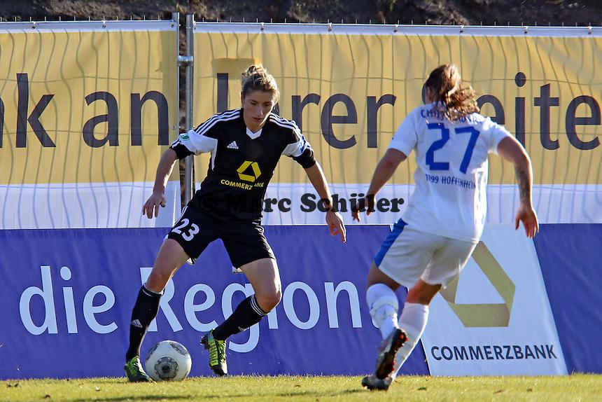 Bianca Schmidt (FFC) gegen Silvana Chojnowski (Hoffenheim) - 1. FFC Frankfurt vs. TSG 1899 Hoffenheim