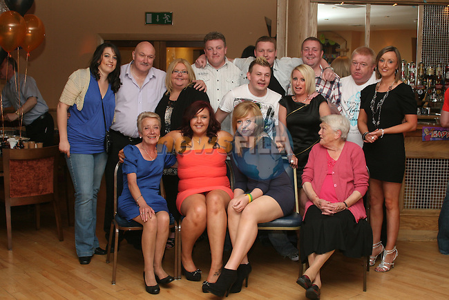 Rebecca Coor with family at her party in The Thatch...Photo NEWSFILE/Jenny Matthews.(Photo credit should read Jenny Matthews/NEWSFILE)....This Picture has been sent you under the condtions enclosed by:.Newsfile Ltd..The Studio,.Millmount Abbey,.Drogheda,.Co Meath..Ireland..Tel: +353(0)41-9871240.Fax: +353(0)41-9871260.GSM: +353(0)86-2500958.email: pictures@newsfile.ie.www.newsfile.ie.FTP: 193.120.102.198.