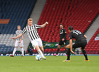 Conor Newton in the St Mirren v Celtic Scottish Communities League Cup Semi Final match played at Hampden Park, Glasgow on 27.1.13.