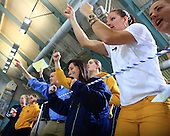 The University of Michigan women's swimming and diving on the second day of competition at the Big Ten Championships at the University of Minnesota Aquatic Center in Minneapolis, Minn., on February 21, 2013.