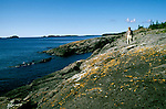 Michigan: Isle Royale National Park, hiker, hiking, Scoville, Photo: miisle103  .Photo copyright: Lee Foster, www.fostertravel.com, (510) 549-2202, lee@fostertravel.com