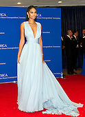 Chanel Iman arrives for the 2015 White House Correspondents Association Annual Dinner at the Washington Hilton Hotel on Saturday, April 25, 2015.<br /> Credit: Ron Sachs / CNP
