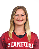 STANFORD, CA - August 16, 2019: Jessica Welch on Field Hockey Photo Day.