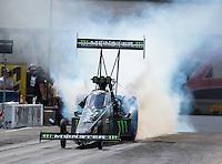 Sep 18, 2016; Concord, NC, USA; NHRA top fuel driver Brittany Force during the Carolina Nationals at zMax Dragway. Mandatory Credit: Mark J. Rebilas-USA TODAY Sports