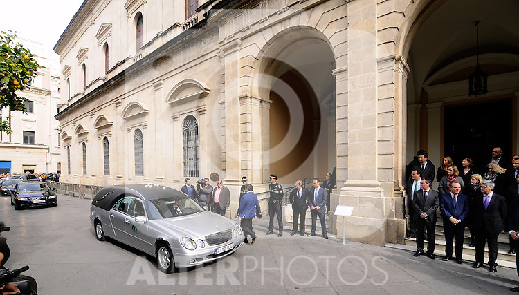 Obit The Duchess of Alba in Sevilla, Spain.November 20, 2014. (ALTERPHOTOS/BOUZA PRESS/Raul Castro)