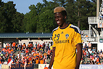 29 May 2013: Los Angeles' Gyasi Zardes. The North American Soccer League's Carolina RailHawks hosted Major League Soccer's Los Angeles Galaxy at WakeMed Stadium in Cary, NC in a 2013 Lamar Hunt U.S. Open Cup third round game. Carolina won the game 2-0.