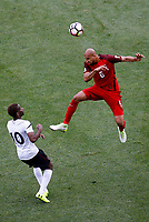 Commerce City, CO - Thursday June 08, 2017: John Brooks during their 2018 FIFA World Cup Qualifying Final Round match versus Trinidad & Tobago at Dick's Sporting Goods Park.