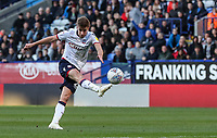 Bolton Wanderers' Joe Williams shoots at goal<br /> <br /> Photographer Andrew Kearns/CameraSport<br /> <br /> The EFL Sky Bet Championship - Bolton Wanderers v Blackburn Rovers - Saturday 6th October 2018 - University of Bolton Stadium - Bolton<br /> <br /> World Copyright &copy; 2018 CameraSport. All rights reserved. 43 Linden Ave. Countesthorpe. Leicester. England. LE8 5PG - Tel: +44 (0) 116 277 4147 - admin@camerasport.com - www.camerasport.com