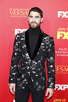 "LOS ANGELES - JAN 8:  Darren Criss at the ""The Assassination of Gianni Versace: American Crime Story"" Premiere Screening at the ArcLight Theater on January 8, 2018 in Los Angeles, CA"