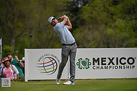 Kevin Kisner (USA) watches his tee shot on 18 during round 4 of the World Golf Championships, Mexico, Club De Golf Chapultepec, Mexico City, Mexico. 2/24/2019.<br /> Picture: Golffile | Ken Murray<br /> <br /> <br /> All photo usage must carry mandatory copyright credit (© Golffile | Ken Murray)