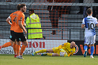 Mark Cousins Of Barnet makes a save during Barnet vs Bristol Rovers, Emirates FA Cup Football at the Hive Stadium on 11th November 2018