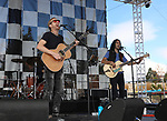 The Novelists perform during the Beer and Chili Festival at the Grand Sierra Resort in Reno, Nevada on Saturday, Oct. 21, 2017.