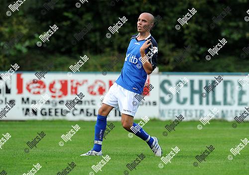 2011-07-27 / Voetbal / seizoen 2011-2012 / KF Mariekerke / Kristof Van Damme..Foto: mpics
