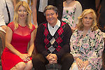 """Guiding Light's Cynthia Watros and Tina Sloan along with Michael O'Leary (author of play) as they all star in """"Breathing Under Dirt"""" - full play - had its world premier on August 13 and 14, 2016 at the Ella Fitzgerald Performing Arts Center, University of Maryland Eastern Shore, Princess Anne, Maryland  (Photo by Sue Coflin/Max Photos)"""