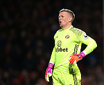 Sunderland's Jordan Pickford looks on dejected during the Premier League match at Old Trafford Stadium, London. Picture date December 26th, 2016 Pic David Klein/Sportimage