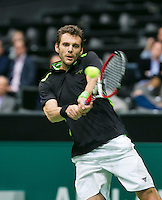10-02-14, Netherlands,Rotterdam,Ahoy, ABNAMROWTT,, ,  Paul-Henri Mathieu(FRA) <br />