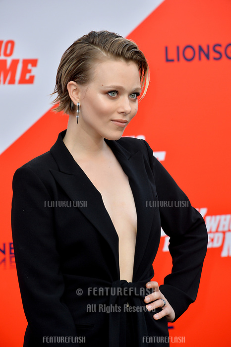 Ivanna Sakhno at the world premiere for &quot;The Spy Who Dumped Me&quot; at the Fox Village Theatre, Los Angeles, USA 25 July 2018<br /> Picture: Paul Smith/Featureflash/SilverHub 0208 004 5359 sales@silverhubmedia.com