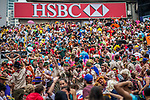Atmosphere during the Cathay Pacific / HSBC Hong Kong Sevens at the Hong Kong Stadium on 29 March 2014 in Hong Kong, China. Photo by Victor Fraile / Power Sport Images