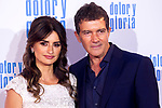 Penelope Cruz and Antonio Banderas attend the movie premiere of 'Dolor y gloria' in Capitol Cinema, Madrid 13th March 2019. (ALTERPHOTOS/Alconada)