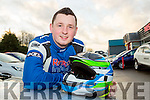 Killarney driver Rob Duggan who has won the Billy Coleman award and has also been named as a driver for the Vauxhall Motorsport junior team to contest for the Junior British Rally Championship this year