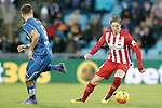 Getafe's Juan Cala (l) and Atletico de Madrid's Fernando Torres during La Liga match. February 14,2016. (ALTERPHOTOS/Acero)
