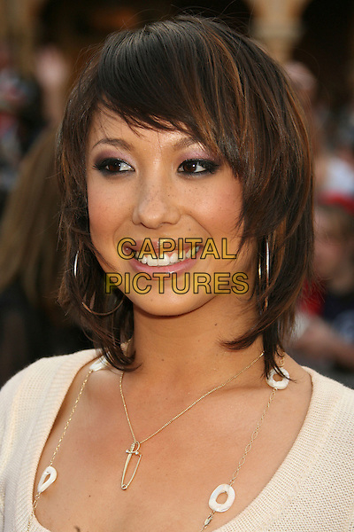 "CHERYL BURKE.""Pirates Of The Caribbean: At World's End"" World Premiere held at Disneyland, Anaheim, California, USA,.May 19th, 007.3 headshot portrait hoop earrings necklace .CAP/ADM/RE.©Russ Elliot/AdMedia/Capital Pictures"