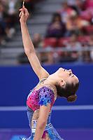 September 14, 2018 - Sofia, Bulgaria -  ELENI KELAIDITI of Greece  performs at 2018 World Championships.