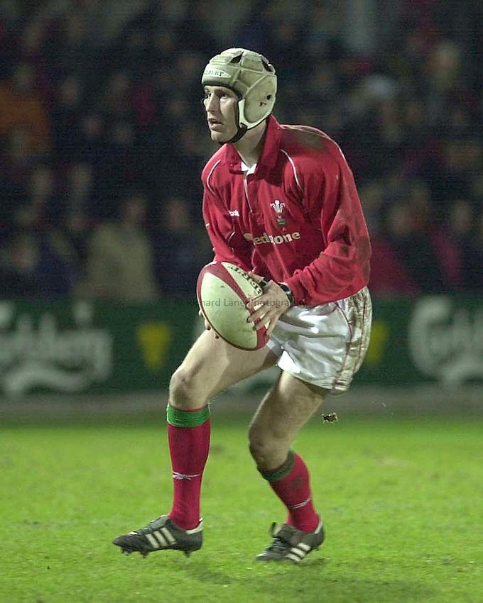 Photo Mike Brett 2201 Wales A v England A.Wales R.U. Craig Warlow
