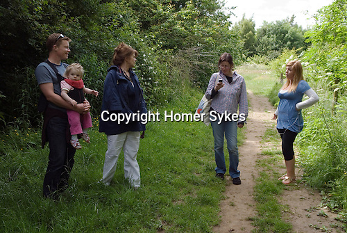 Sykes family Leicestershire summer 2009
