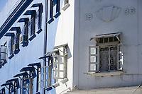Afrique/Afrique de l'Est/Tanzanie/Dar es-Salaam: détail immeuble d'architecture coloniale