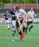 AMSTELVEEN  -  Jan-Willem Buissant (Adam) speelde zijn laatste officiële competitiewedstrijd in de hoofdklasse,  Hoofdklasse hockey dames ,competitie, heren, Amsterdam-Pinoke (3-2)  . COPYRIGHT KOEN SUYK