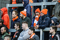 Blackpool supporters <br /> <br /> Photographer Andrew Kearns/CameraSport<br /> <br /> The EFL Sky Bet League Two - Bristol Rovers v Blackpool - Saturday 2nd March 2019 - Memorial Stadium - Bristol<br /> <br /> World Copyright © 2019 CameraSport. All rights reserved. 43 Linden Ave. Countesthorpe. Leicester. England. LE8 5PG - Tel: +44 (0) 116 277 4147 - admin@camerasport.com - www.camerasport.com