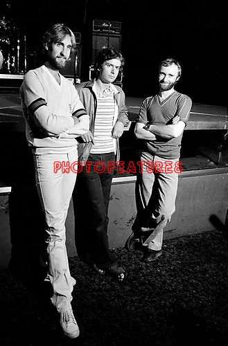 Genesis 1980 Mike Rutherford, Tony Banks and Phil Collins