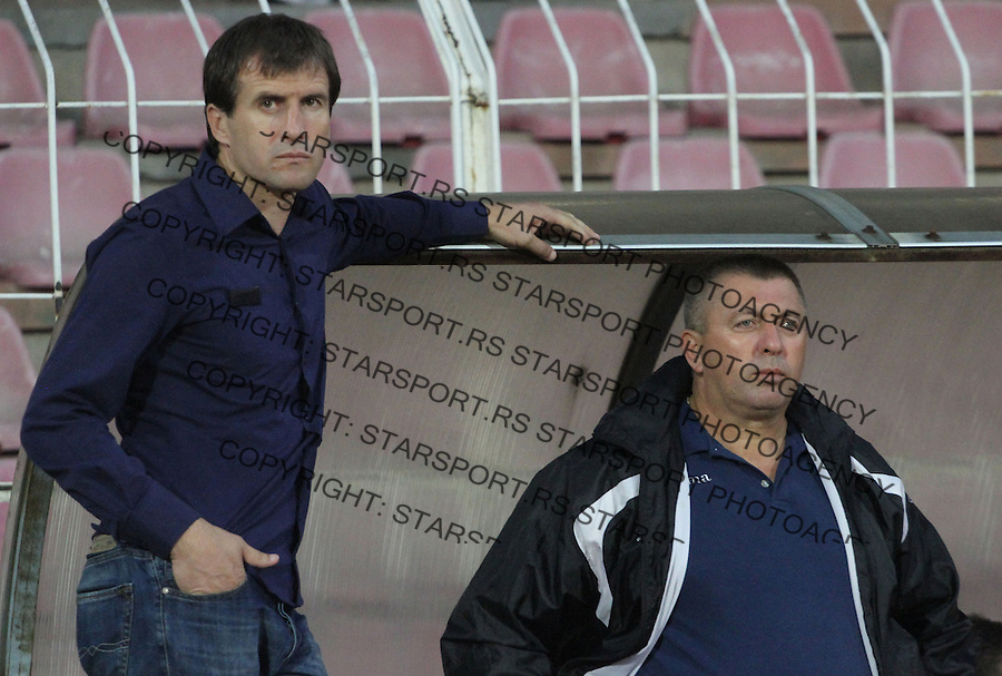 Fudbal Super liga season 2014-2015<br /> Radnicki (Nis) v Donji Srem<br /> Nenad Vanic trener, Donji Srem<br /> Nis, 16.08.2014.<br /> foto: Sasa Djordjevic/Starsportphoto &copy;