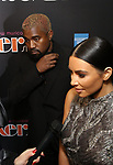 """Kanye West and Kim Kardashian West attends the Broadway Opening Night Performance of """"The Cher Show""""  at the Neil Simon Theatre on December 3, 2018 in New York City."""