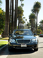 BNPS.co.uk (01202 558833)<br /> Pic: Juliens/BNPS<br /> <br /> Taylor luxurious Maybach limo -  Est £80,000.<br /> <br /> A spectacular collection of over 1,000 items charting Elizabeth Taylor's life including her iconic outfits are up for sale for over £1million. ($1.25million)<br /> <br /> Dozens of designer gowns, fur coats and capes are being auctioned by the trustees of the estate of the late English actress.<br /> <br /> Also going under the hammer are the Hollywood icon's stylish wigs, scarves, shoes and jewellery.<br /> <br /> Items of her lavish furniture from her luxury homes across the world, right down to her personalised salt and pepper shaker, are included.