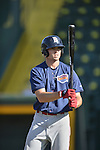 18 August 2012: Brooklyn Cyclones infielder Jayce Boyd awaits his turn in the batting cage prior to a game against the Vermont Lake Monsters at Centennial Field in Burlington, Vermont. The Lake Monsters defeated the Cyclones 4-1 in NY Penn League action. Mandatory Credit: Ed Wolfstein Photo