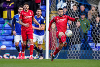 1st February 2020; St Andrews, Birmingham, Midlands, England; English Championship Football, Birmingham City versus Nottingham Forest; Tiago Silva of Nottingham Forest controls the ball in defence