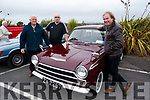Matt Woods, Billy Horgan and John McCarthy pictured at the Blennerville Treshing Festival on Sunday.