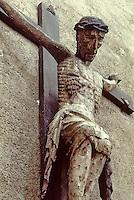 Europe/France/Auvergne/43/Haute-Loire/Brioude: La basilique Saint Julien - Christ de la bajasse XVème siècle