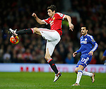 Matteo Darmian of Manchester United - English Premier League - Manchester Utd vs Chelsea - Old Trafford Stadium - Manchester - England - 28th December 2015 - Picture Simon Bellis/Sportimage